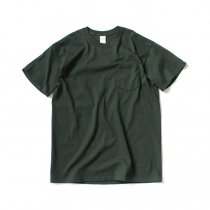 GILDAN / 2300 6.0oz Ultra Cotton Short Sleeve Pocket T-Shirt ウルトラコットン半袖ポケットTシャツ - Forest Green