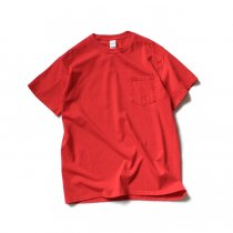 GILDAN / 2300 6.0oz Ultra Cotton Short Sleeve Pocket T-Shirt ウルトラコットン半袖ポケットTシャツ - Red