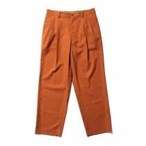 THEE(シー)/ high-rise wide trousers ハイウエストワイドトラウザーズ HT-PT-02-A Brown