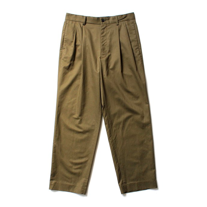 144639255 THEE(シー)/ high-rise wide trousers ハイウエストワイドトラウザーズ HT-PT-02-B Olive<img class='new_mark_img2' src='//img.shop-pro.jp/img/new/icons20.gif' style='border:none;display:inline;margin:0px;padding:0px;width:auto;' /> 01