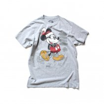 Hexico / American Cartoon Tee Ex. Used Tee Reflector Print リメイクプリントTシャツ01 グレーM