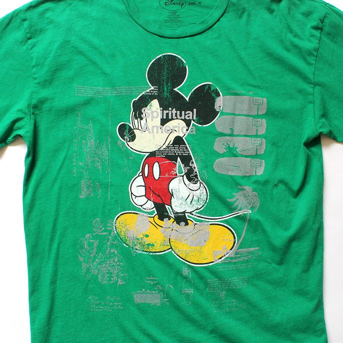 144704146 Hexico / American Cartoon Tee Ex. Used Tee Reflector Print リメイクプリントTシャツ03 グリーンM<img class='new_mark_img2' src='//img.shop-pro.jp/img/new/icons47.gif' style='border:none;display:inline;margin:0px;padding:0px;width:auto;' /> 02