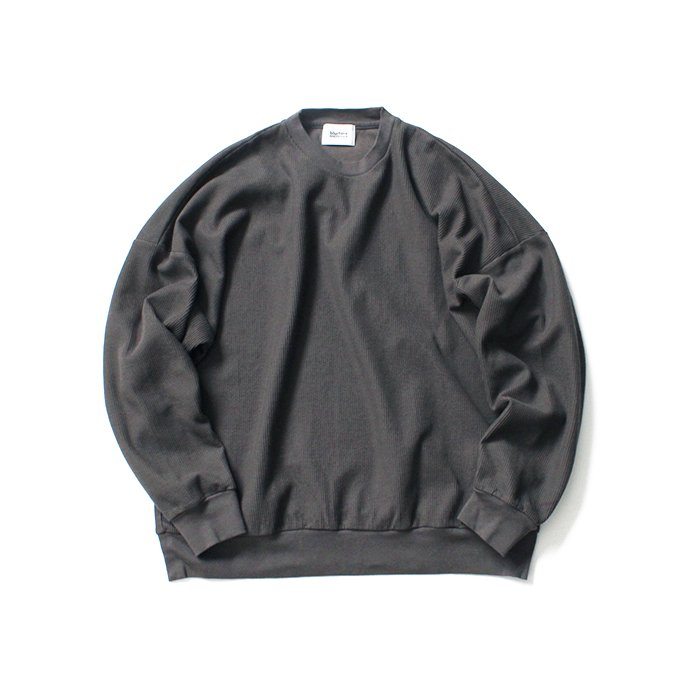 145073039 blurhms ROOTSTOCK / New Rough & Smooth Thermal P/O Loose Fit - Charcoal BHS-RKAW19002 01