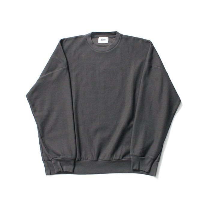 145073039 blurhms ROOTSTOCK / New Rough & Smooth Thermal P/O Loose Fit - Charcoal BHS-RKAW19002 02