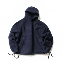 blurhms / Wool Pile Short Hoodie BHS-19AW033 - Navy<img class='new_mark_img2' src='//img.shop-pro.jp/img/new/icons47.gif' style='border:none;display:inline;margin:0px;padding:0px;width:auto;' />