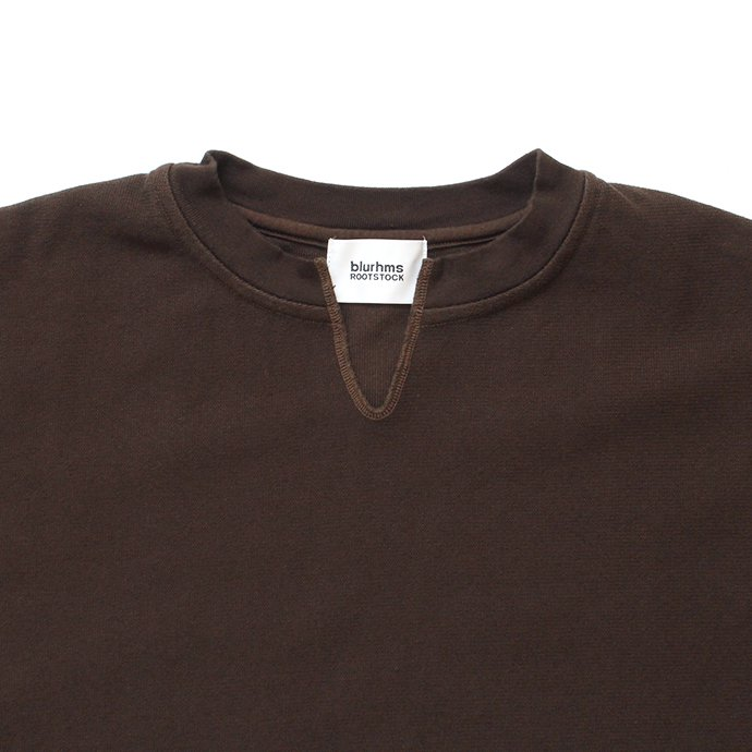 145306441 blurhms ROOTSTOCK / Raschel Cut-Off V-Neck P/O - Brown BHS-RKAW19009<img class='new_mark_img2' src='//img.shop-pro.jp/img/new/icons47.gif' style='border:none;display:inline;margin:0px;padding:0px;width:auto;' /> 02