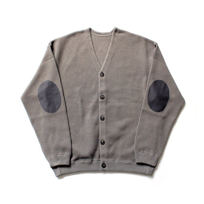 145455846 crepuscule / moss stitch V/N cardigan 1903-002 Gray 鹿の子編みカーディガン グレー<img class='new_mark_img2' src='//img.shop-pro.jp/img/new/icons47.gif' style='border:none;display:inline;margin:0px;padding:0px;width:auto;' /> 01