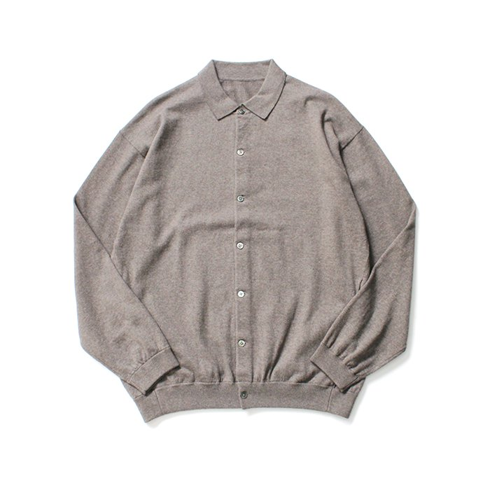 145587355 crepuscule / knit shirts L/S 1903-005 Brown ハイゲージニットシャツ ブラウン<img class='new_mark_img2' src='//img.shop-pro.jp/img/new/icons47.gif' style='border:none;display:inline;margin:0px;padding:0px;width:auto;' /> 01