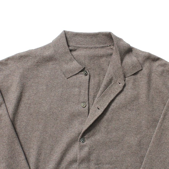 145587355 crepuscule / knit shirts L/S 1903-005 Brown ハイゲージニットシャツ ブラウン<img class='new_mark_img2' src='//img.shop-pro.jp/img/new/icons47.gif' style='border:none;display:inline;margin:0px;padding:0px;width:auto;' /> 02