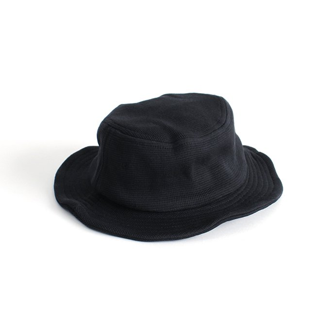 145611970 crepuscule / pork pie hat 1903-013 Black ポークパイハット ブラック 01