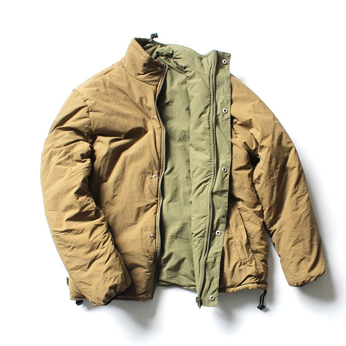 145911232 SBB / Reversible Lite Jacket - Olive/Tan リバーシブルライトジャケット<img class='new_mark_img2' src='//img.shop-pro.jp/img/new/icons47.gif' style='border:none;display:inline;margin:0px;padding:0px;width:auto;' /> 01