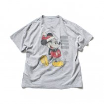 Hexico / American Cartoon Tee Ex. Used Tee Reflector Print リメイクプリントTシャツ07 グレー XL