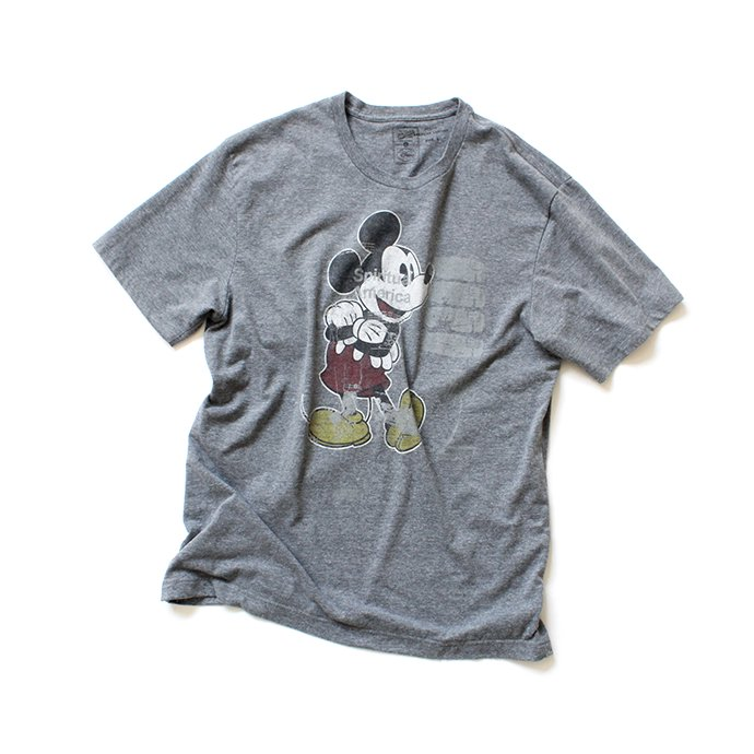 145955078 Hexico / American Cartoon Tee Ex. Used Tee Reflector Print リメイクプリントTシャツ10 ダークヘザー L<img class='new_mark_img2' src='//img.shop-pro.jp/img/new/icons47.gif' style='border:none;display:inline;margin:0px;padding:0px;width:auto;' /> 01