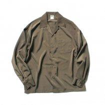 CalTop / 3003 Open Collar L/S Shirts - Tan オープンカラー長袖シャツ タン