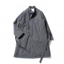 STILL BY HAND / CO0194 シンサレート中綿入りスタンドカラーコート - Charcoal