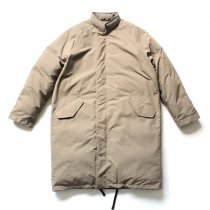 THEE(シー)/ down coat. DW-CO-01 ダウンコート - Tan