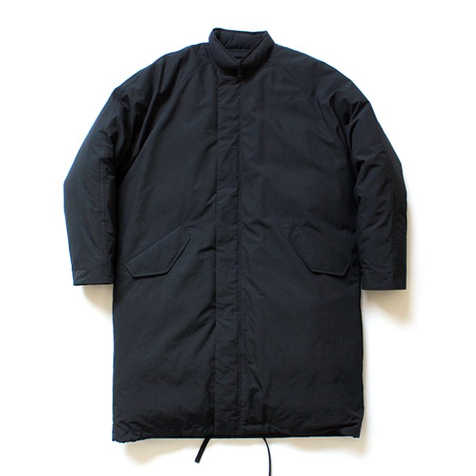 146809522 THEE(シー)/ down coat. DW-CO-01 ダウンコート - Black 01