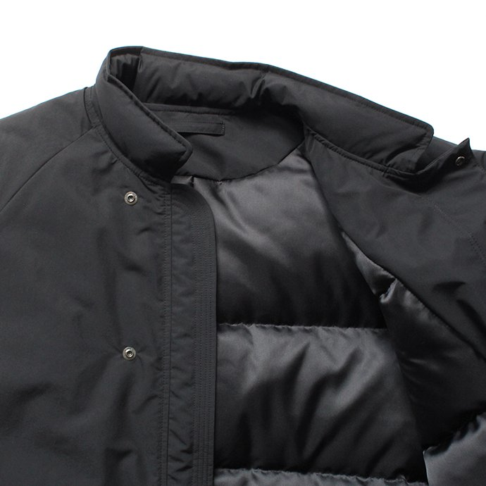 146809522 THEE(シー)/ down coat. DW-CO-01 ダウンコート - Black 02