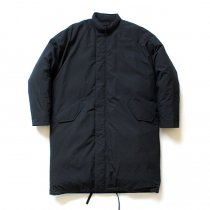 THEE(シー)/ down coat. DW-CO-01 ダウンコート - Black