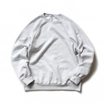 Fruit of the Loom Europe / Classic Raglan Sweat - Heather Grey<img class='new_mark_img2' src='//img.shop-pro.jp/img/new/icons47.gif' style='border:none;display:inline;margin:0px;padding:0px;width:auto;' />