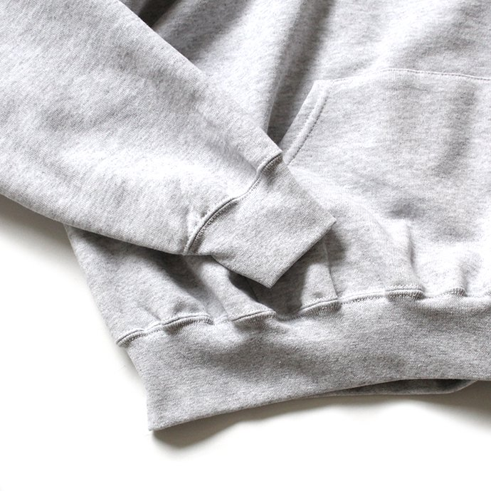147903112 Fruit of the Loom Europe / Classic Hooded Sweat - Heather Grey 02