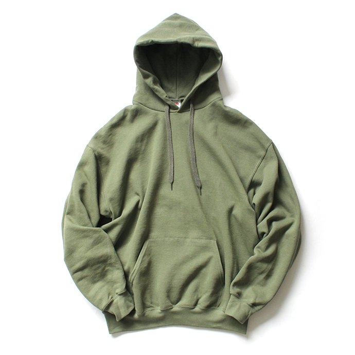 147903115 Fruit of the Loom Europe / Classic Hooded Sweat - Classic Olive 01