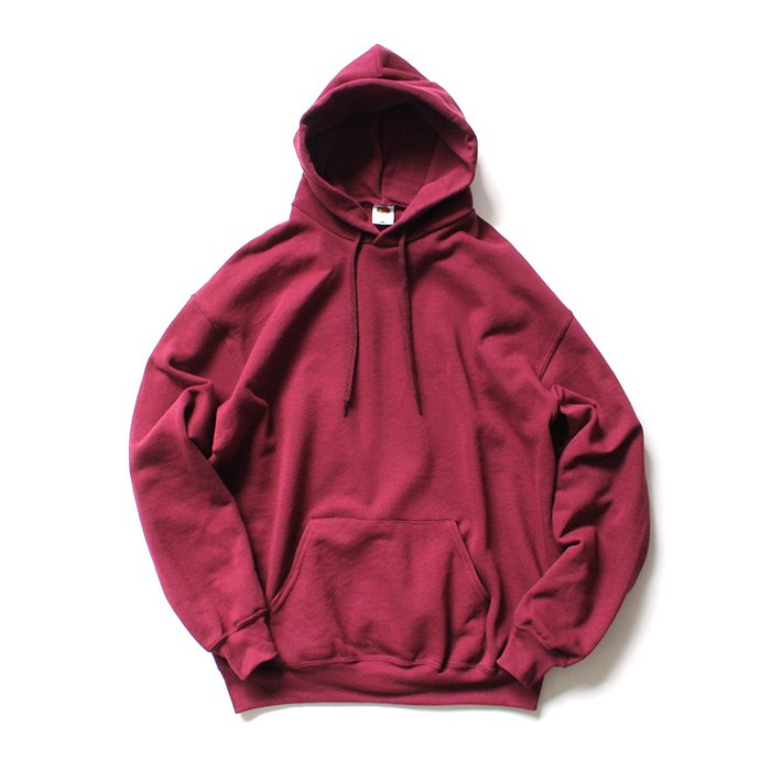 147903166 Fruit of the Loom Europe / Classic Hooded Sweat - Burgundy 01