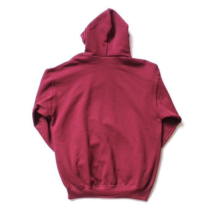 147903166 Fruit of the Loom Europe / Classic Hooded Sweat - Burgundy 02