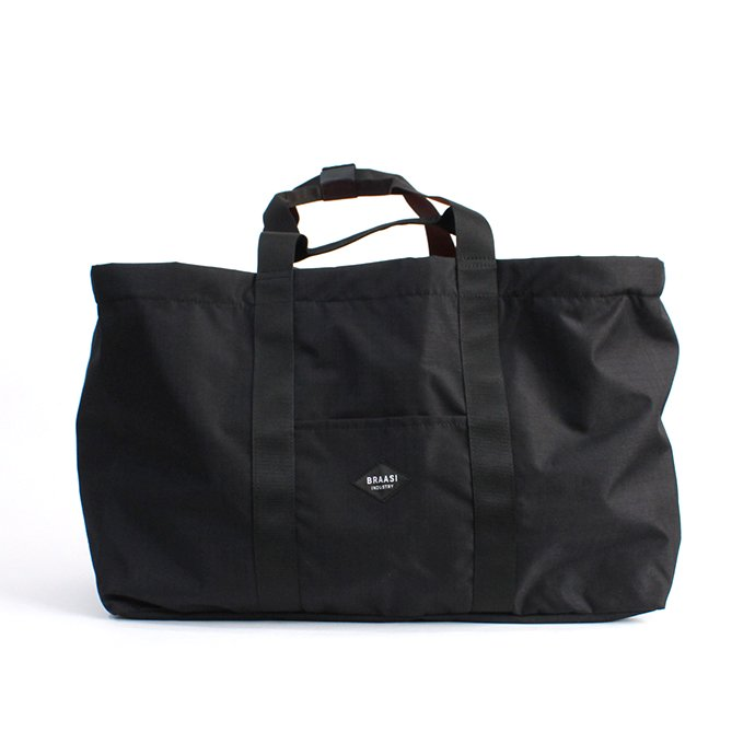 BRAASI INDUSTRY / CARGO BAG - Black ダッフル/トートバッグ