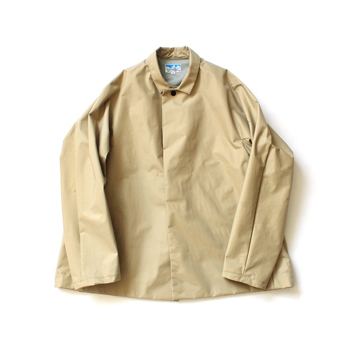 148203692 Powderhorn Mountaineering / P.H. M.COAT SHORT 3Lナイロンシェル ショートコート PH20SS-002 - Beige<img class='new_mark_img2' src='//img.shop-pro.jp/img/new/icons20.gif' style='border:none;display:inline;margin:0px;padding:0px;width:auto;' /> 01