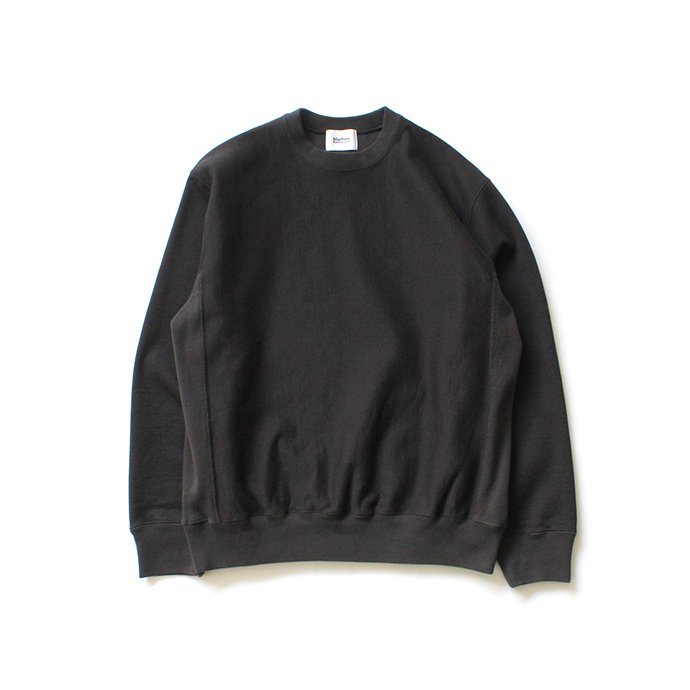 148259720 blurhms ROOTSTOCK / Soft & Hard Sweat Crew-neck P/O - Charcoal BHS-RKAW19011-20S 01