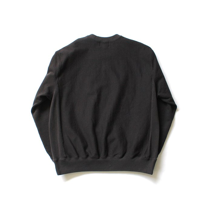 148259720 blurhms ROOTSTOCK / Soft & Hard Sweat Crew-neck P/O - Charcoal BHS-RKAW19011-20S 02