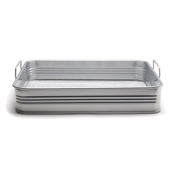 148543609 Stack Metal Tray - Silver スタックメタルトレイ シルバー 01