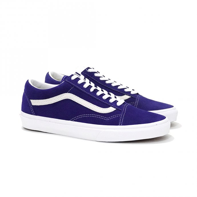 148560589 VANS / Suede Old Skool - Blueprint ヴァンズ スウェードオールドスクール ダークブルー VN0A4U3BXF7<img class='new_mark_img2' src='//img.shop-pro.jp/img/new/icons20.gif' style='border:none;display:inline;margin:0px;padding:0px;width:auto;' /> 01