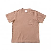 blurhms ROOTSTOCK / Extra Soft Standard Pocket Tee BHS-RKSS18005-20S - Beige