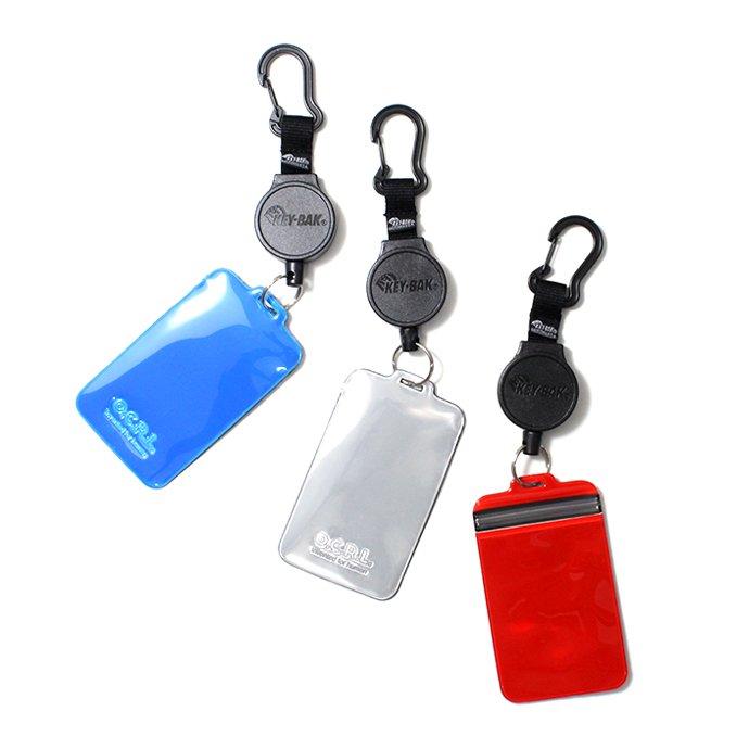 149855744 O-(オー)/ JOY PURSE リフレクター素材カードケース 20W-18 Blue 02