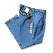 Lee / Relaxed-Fit Pleated Denim Pants リー リラックスドフィット 2タックデニムスラックス 日本未発売