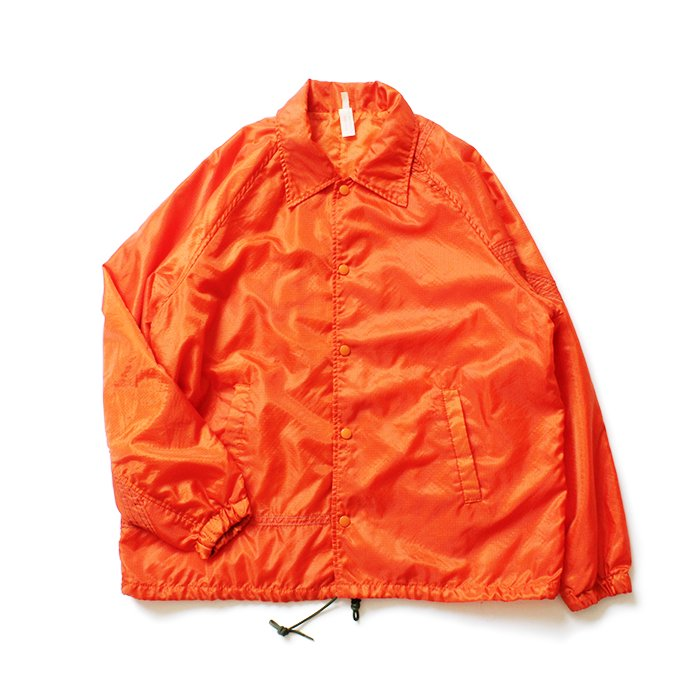 150988368 Hexico / Deformer Coach Jacket Ex. USAF Parachute パラシュート素材コーチジャケット - Orange<img class='new_mark_img2' src='//img.shop-pro.jp/img/new/icons47.gif' style='border:none;display:inline;margin:0px;padding:0px;width:auto;' /> 01