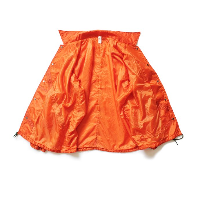 150988368 Hexico / Deformer Coach Jacket Ex. USAF Parachute パラシュート素材コーチジャケット - Orange<img class='new_mark_img2' src='//img.shop-pro.jp/img/new/icons47.gif' style='border:none;display:inline;margin:0px;padding:0px;width:auto;' /> 02