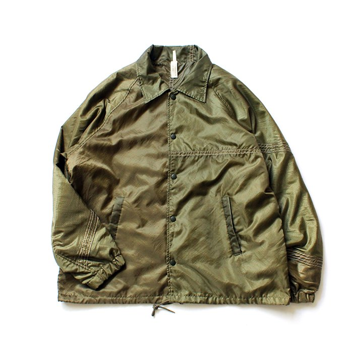 151233077 Hexico / Deformer Coach Jacket Ex. USAF Parachute パラシュート素材コーチジャケット - Olive<img class='new_mark_img2' src='//img.shop-pro.jp/img/new/icons47.gif' style='border:none;display:inline;margin:0px;padding:0px;width:auto;' /> 01