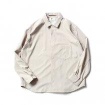 O-(オー)/ BAGGY SHIRT バギーシャツ O-S-04 Sand