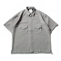 O-(オー)/ ELBOW SLEEVE SHIRT エルボースリーブシャツ 20S-04 - L.Gray<img class='new_mark_img2' src='//img.shop-pro.jp/img/new/icons47.gif' style='border:none;display:inline;margin:0px;padding:0px;width:auto;' />