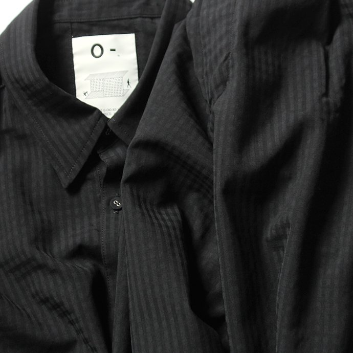 151862809 O-(オー)/ ELBOW SLEEVE SHIRT エルボースリーブシャツ 20S-05 - Black Plaid 02