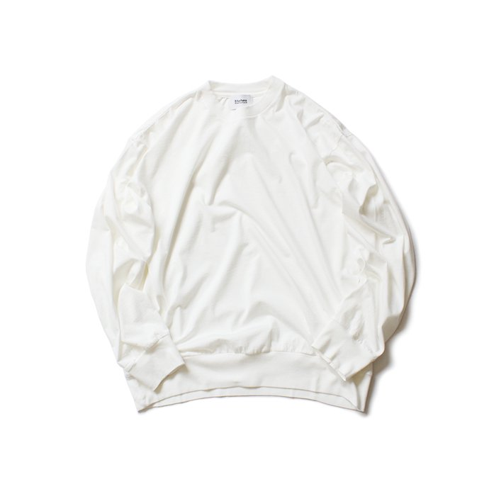 152342322 blurhms ROOTSTOCK / Silk Cotton Jersey L/S Loose Fit ROOTS-F206 - Off<img class='new_mark_img2' src='https://img.shop-pro.jp/img/new/icons47.gif' style='border:none;display:inline;margin:0px;padding:0px;width:auto;' /> 01