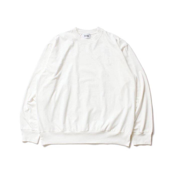152342322 blurhms ROOTSTOCK / Silk Cotton Jersey L/S Loose Fit ROOTS-F206 - Off<img class='new_mark_img2' src='https://img.shop-pro.jp/img/new/icons47.gif' style='border:none;display:inline;margin:0px;padding:0px;width:auto;' /> 02