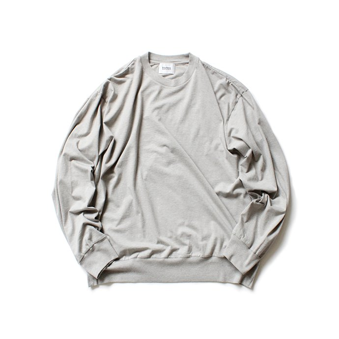 152342599 blurhms ROOTSTOCK / Silk Cotton Jersey L/S Loose Fit ROOTS-F206 - Heather Grey<img class='new_mark_img2' src='https://img.shop-pro.jp/img/new/icons47.gif' style='border:none;display:inline;margin:0px;padding:0px;width:auto;' /> 01