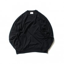 blurhms ROOTSTOCK / Silk Cotton Jersey L/S Loose Fit ROOTS-F206 - Black<img class='new_mark_img2' src='https://img.shop-pro.jp/img/new/icons47.gif' style='border:none;display:inline;margin:0px;padding:0px;width:auto;' />