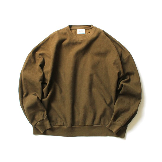 152342706 blurhms ROOTSTOCK / Rough & Smooth Thermal P/O Loose Fit - Khaki Brown ROOTS-RKAW19002F20 01