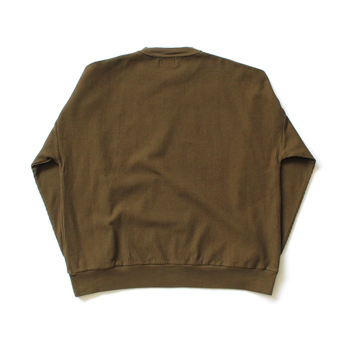 152342706 blurhms ROOTSTOCK / Rough & Smooth Thermal P/O Loose Fit - Khaki Brown ROOTS-RKAW19002F20 02