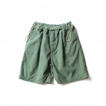 Hexico / Deformer Side String Shorts Ex. U.S. Army Laundry Bag ランドリーバッグリメイクショーツ - 3